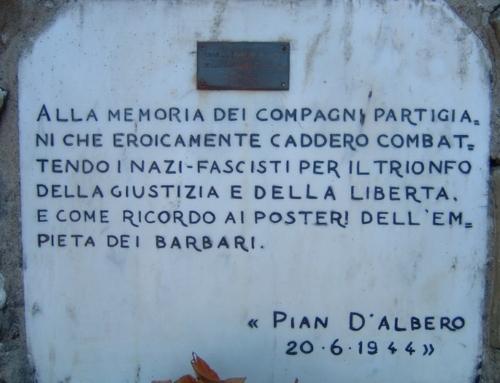 20 giugno 1944 – Eccidio di Pian d'Albero (Firenze) e Eccidio di Fondotece (Verbania – Novara)