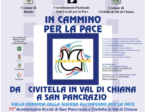 Commemorazione dell'eccidio di San Pancrazio 26-29 giugno – Da Civitella in Val di Chiana a San Pancrazio