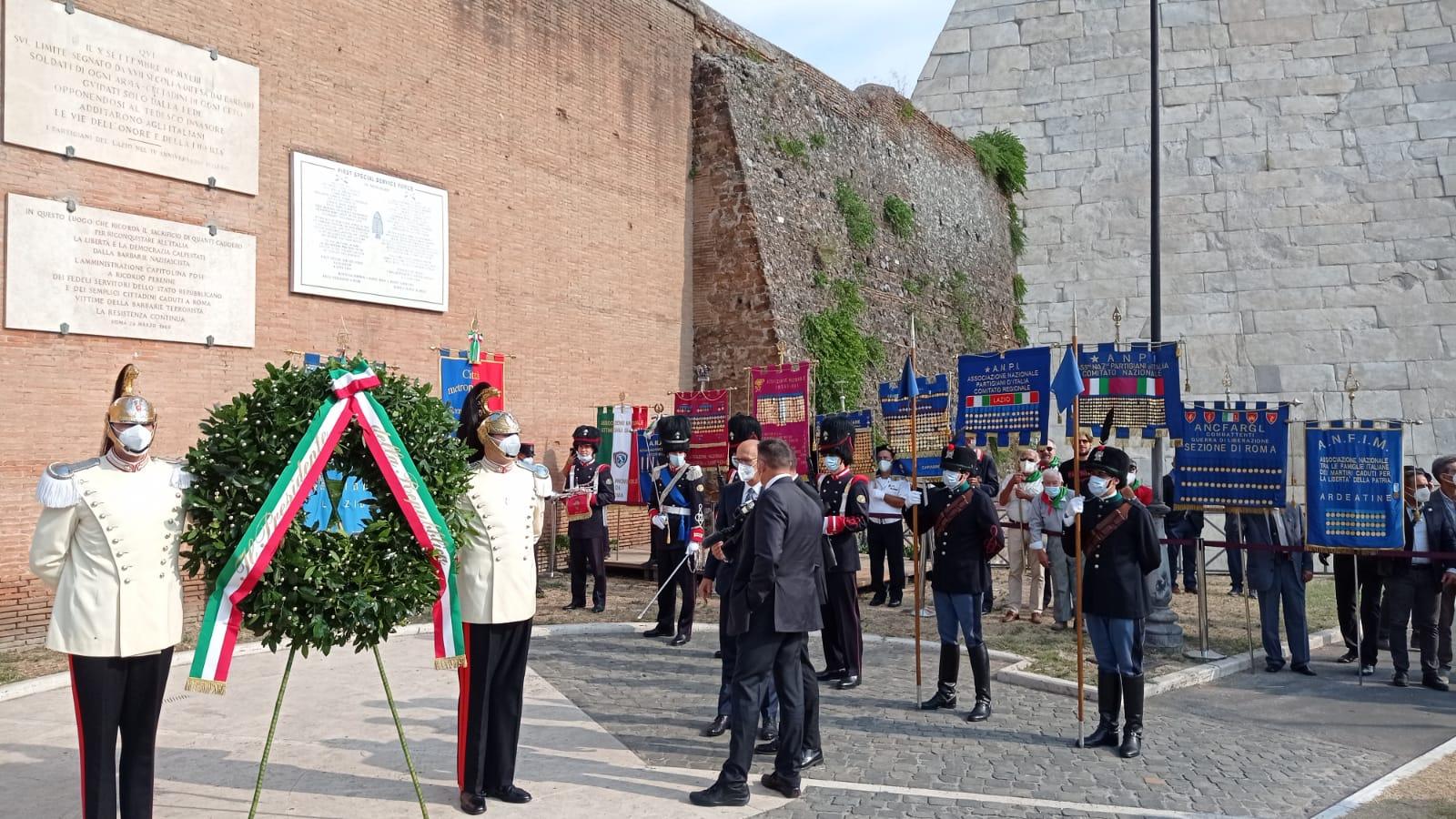 Commemorazione 78° Anniversario Difesa di Roma